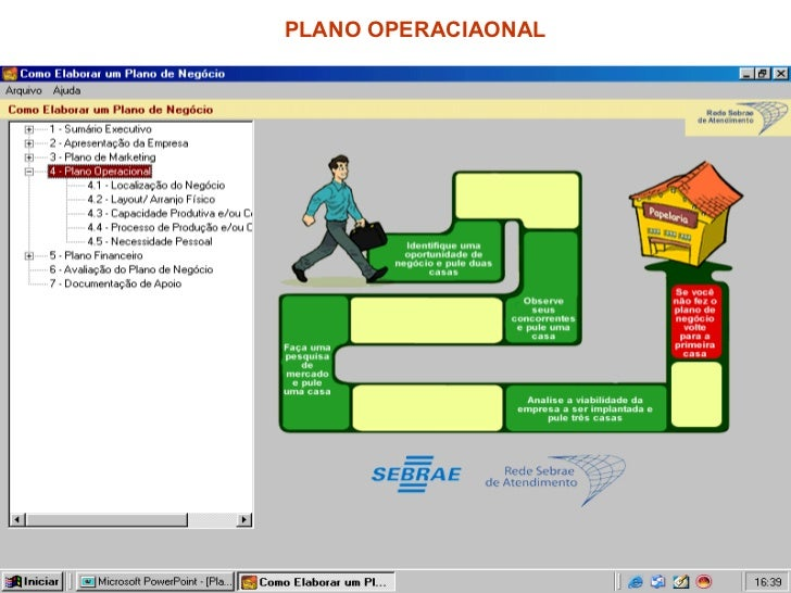 PLANO OPERACIAONAL