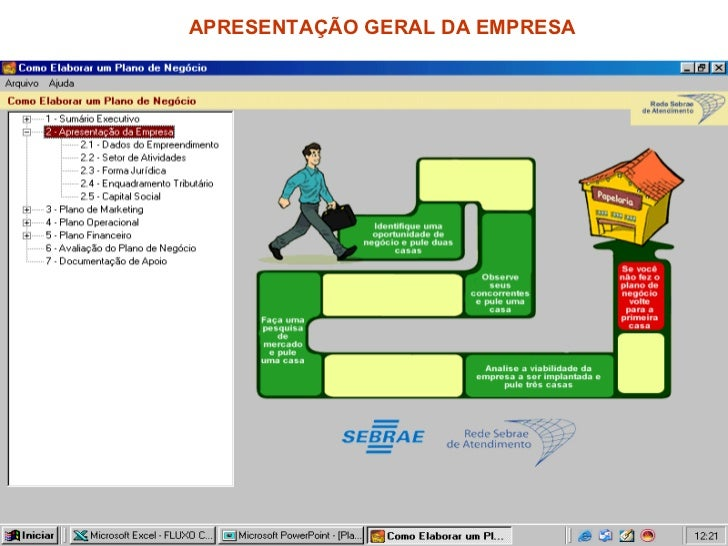 APRESENTAÇÃO GERAL DA EMPRESA