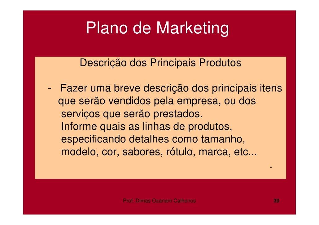 Plano de negocios empresa de servicos
