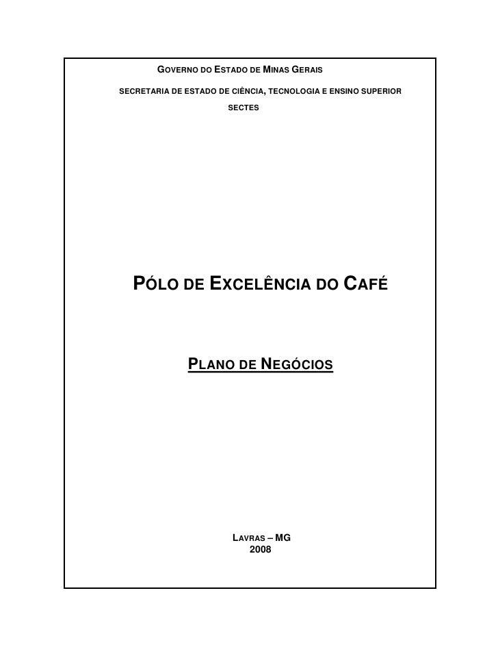 GOVERNO DO ESTADO DE MINAS GERAIS  SECRETARIA DE ESTADO DE CIÊNCIA, TECNOLOGIA E ENSINO SUPERIOR                         S...