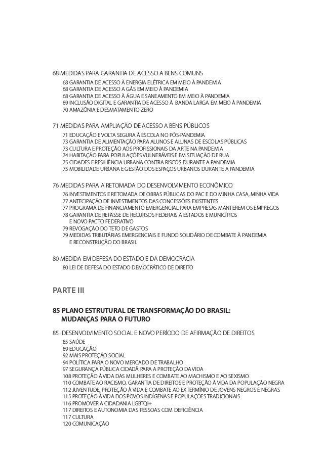 125 ESPORTES PARA UMA VIDA SAUDÁVEL 126 AS NOVAS CIDADES DO SÉCULO XXI 130 DESENVOLVIMENTO SUSTENTÁVEL E TRANSIÇÃO ECOLOGI...