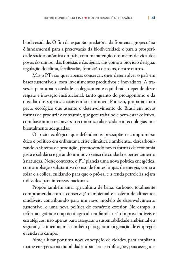 44   PLANO DE RECONSTRUÇÃO E TRANSFORMAÇÃO DO BRASIL ximando o setor público e privado na missão de superar as enormes car...