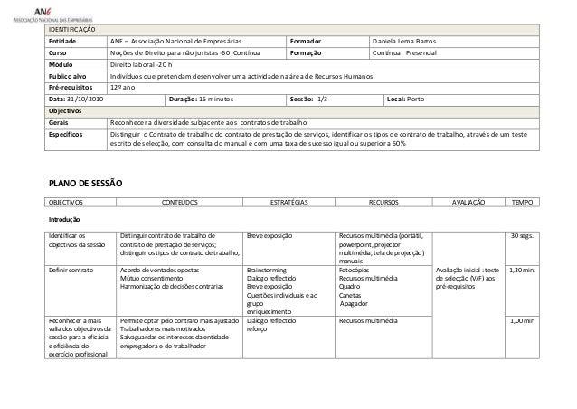 IDENTIFICAÇÂ0 Entidade Formadora Curso  ANE – Associação Nacional de Empresárias  Formador  Daniela Lema Barros  Formação ...