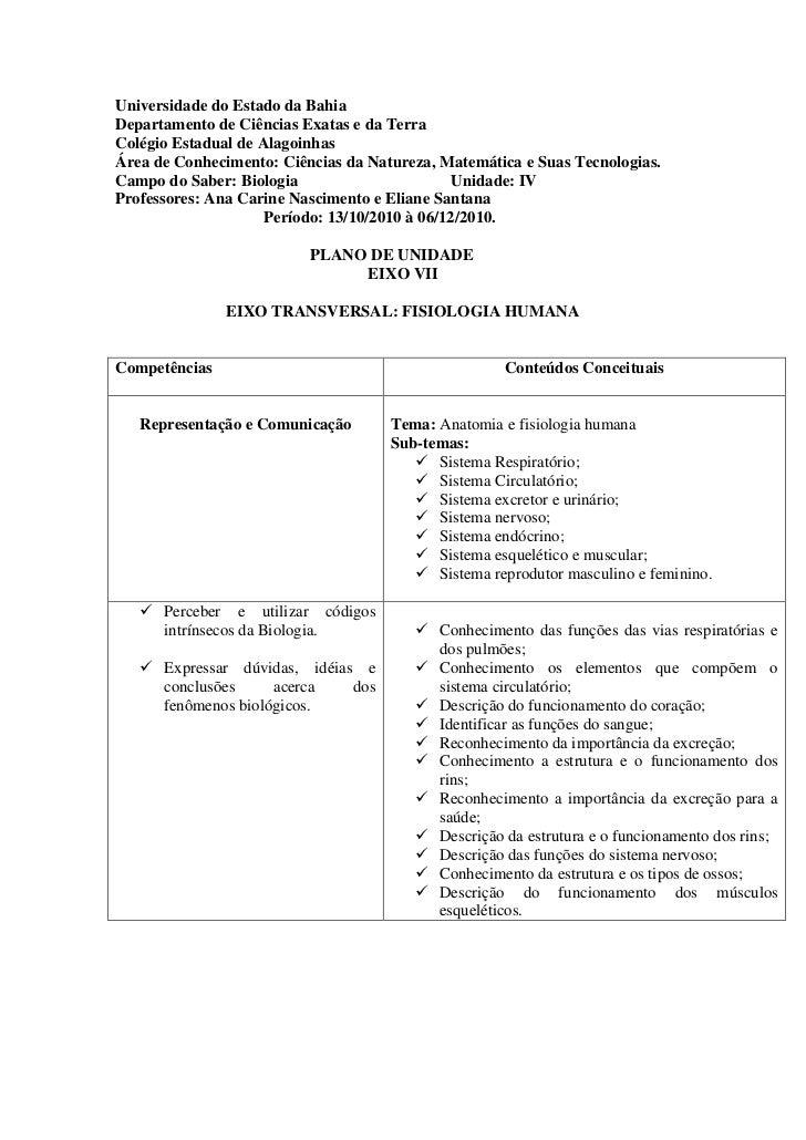 Universidade do Estado da BahiaDepartamento de Ciências Exatas e da TerraColégio Estadual de AlagoinhasÁrea de Conheciment...