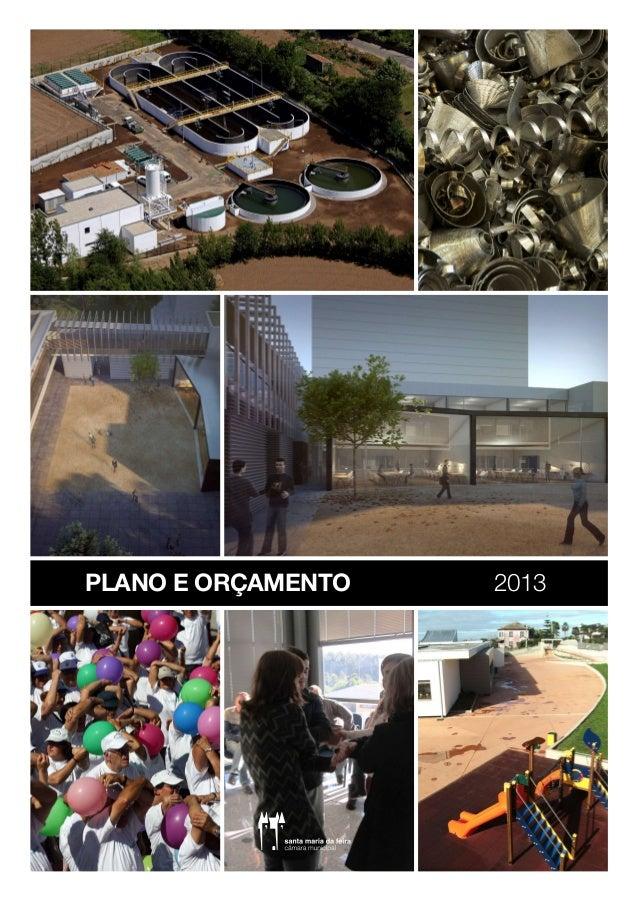 PLANO E ORÇAMENTO   2013