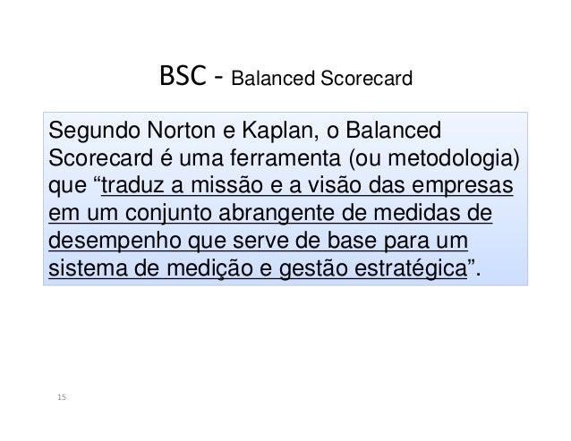 BSC - Balanced Scorecard16Ferramenta demediçãoFerramenta deimplementaçãoda estratégiaSistema de GestãoEstratégicaModelo de...
