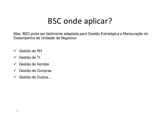 Construção do BSC23VisãoMissãoValorespessoaprocesso produto
