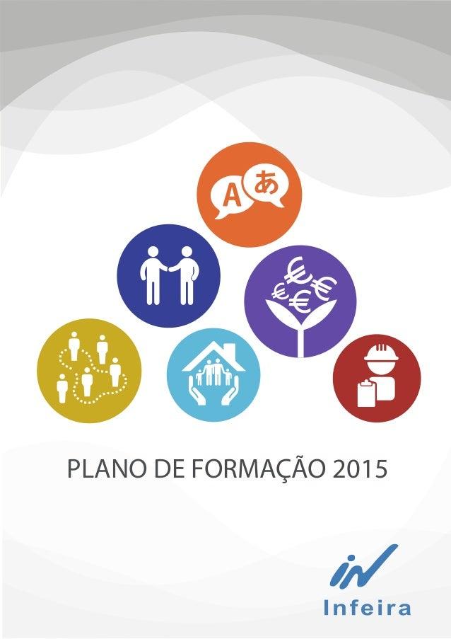 PLANO DE FORMAÇÃO 2015