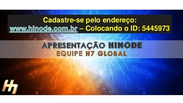 Cadastre-se pelo endereço: – Colocando o ID: 5445973