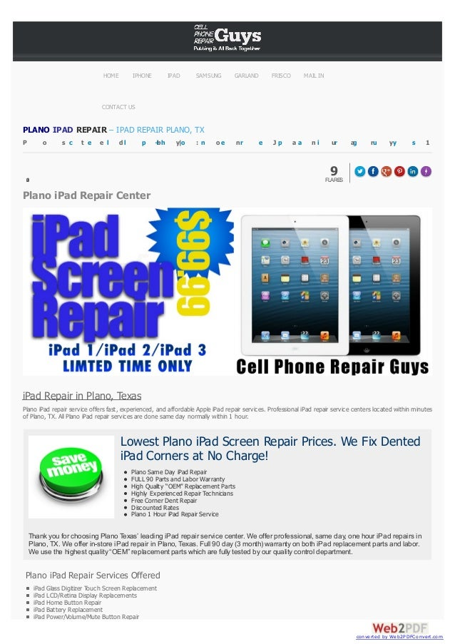 HOME  IPHONE  IPAD  SAMSUNG  GARLAND  FRISCO  MAIL IN  CONTACT US  PLANO IPAD REPAIR – IPAD REPAIR PLANO, TX P  o  s c  t ...