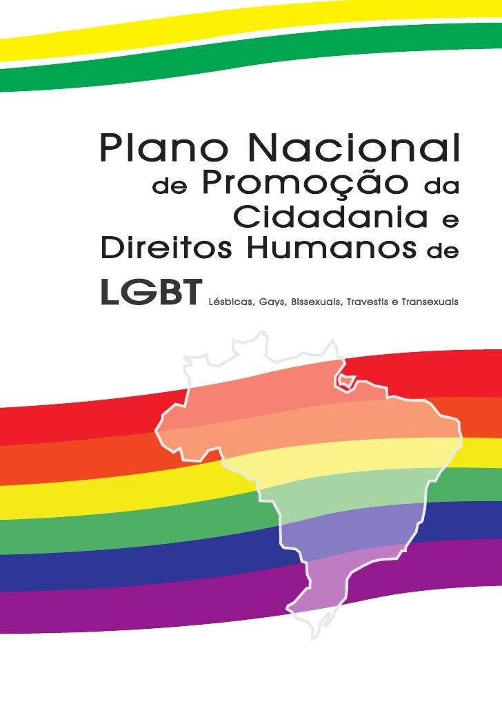 Plano nacional de promocao da cidadania e direitos humanos lgbt 2009