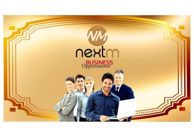 Plano novo NextM-Chegou a sua Oportunidade