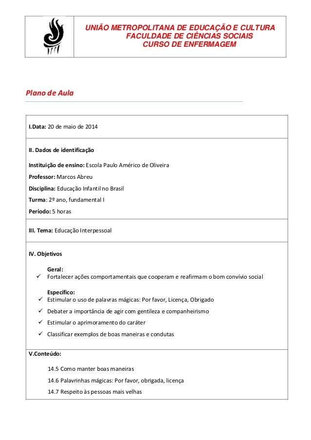 Preferência Planos de aula BD41