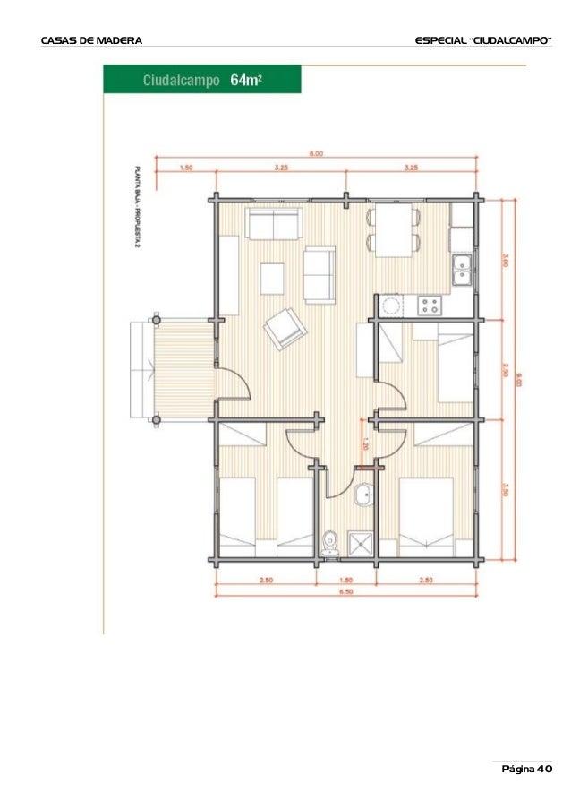 Planos casas madera completo for Planos de casas de madera