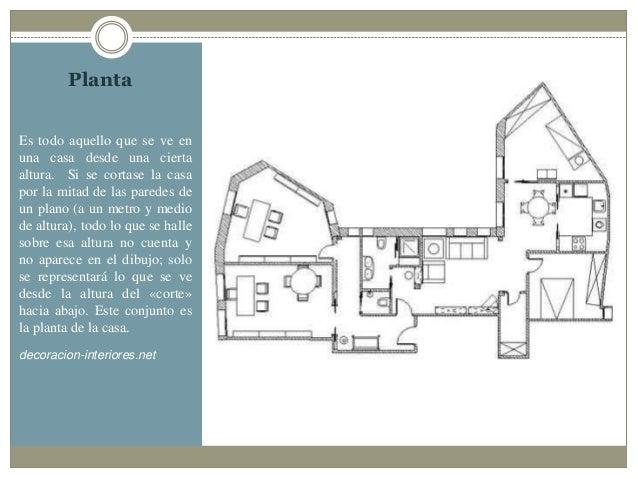 planos de casas y sus simbolos