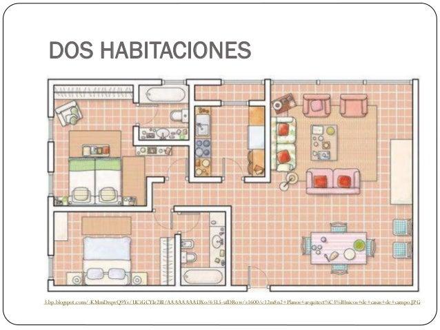 Planos de viviendas for Disenar habitaciones online 3d