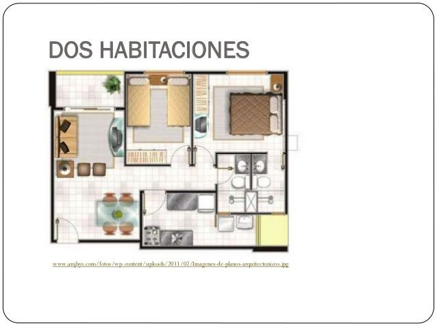 Planos de viviendas for Plantas arquitectonicas de casas