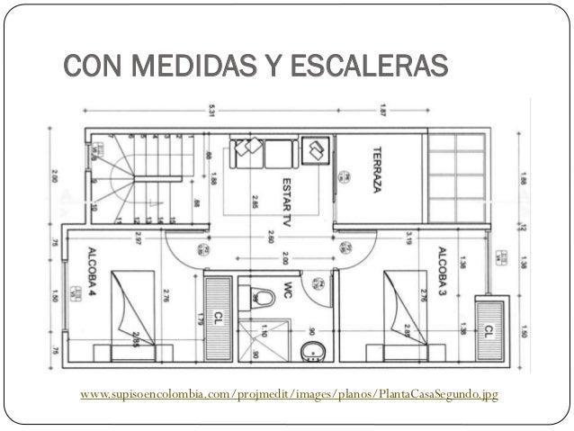 Medidas de escaleras para casas dise os arquitect nicos for Planos de escaleras en u