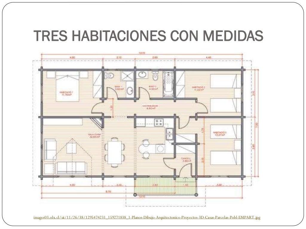 Planos de viviendas - Planos de viviendas unifamiliares ...