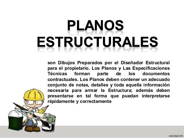 Tipos de planos estructurales