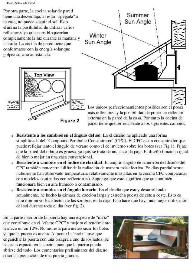 Planos para construir una cocina solar for Planos para cocina solar parabolica