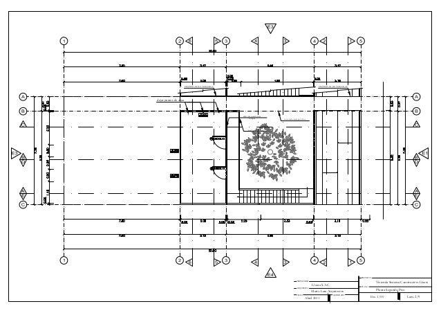 Planos vivienda for Planos arquitectonicos vivienda