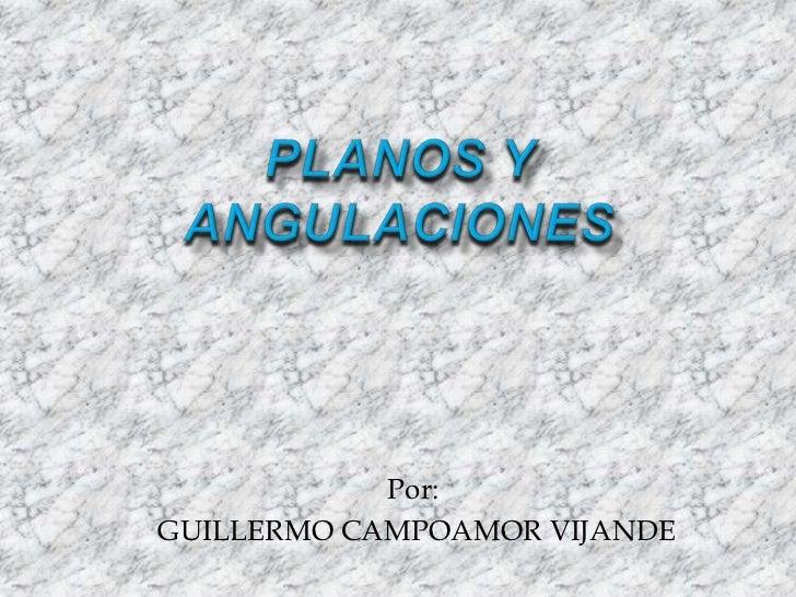 Por:GUILLERMO CAMPOAMOR VIJANDE