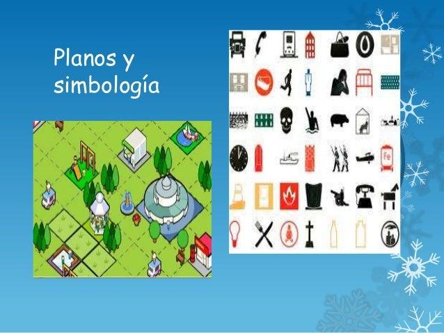 Planos y simbolog a ppt for Simbologia de muebles para planos