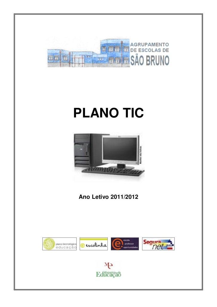 PLANO TICAno Letivo 2011/2012