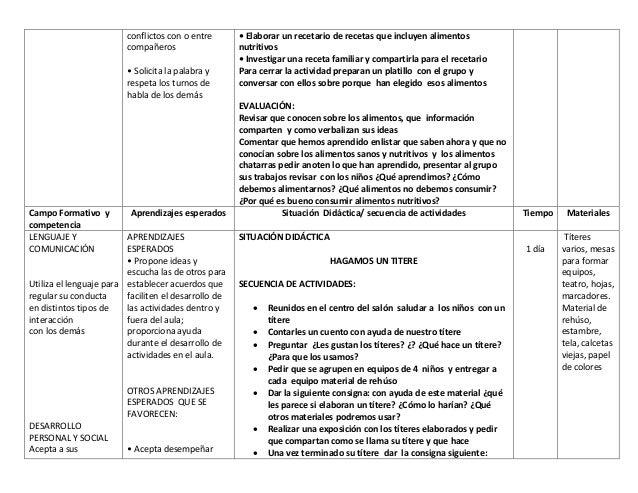 Planeacion didactica para Preescolar Slide 2