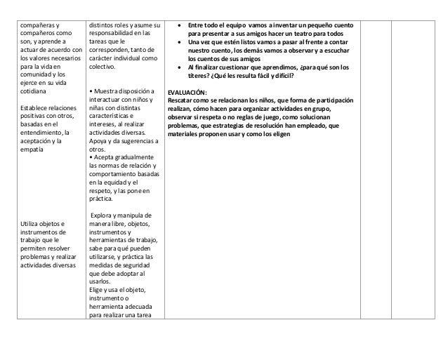 Planeacion didactica para Preescolar Slide 3