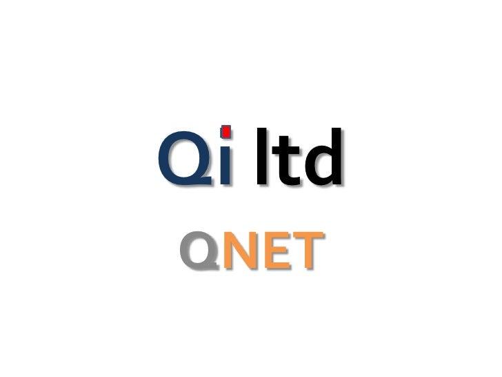 Qi ltdQNET