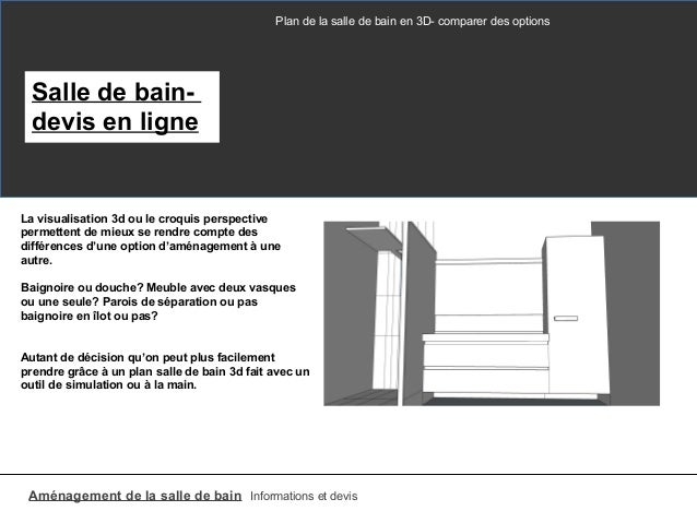 plan salle de bain 3d. Black Bedroom Furniture Sets. Home Design Ideas