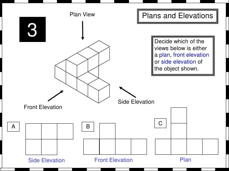 Plans and elevations from whiteboard maths for Side by side plans