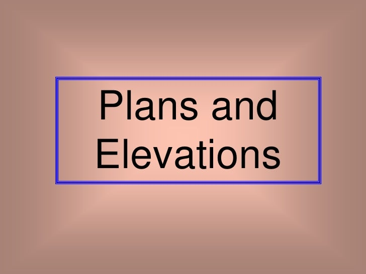 Plan And Elevation Maths : Plans and elevations from whiteboard maths
