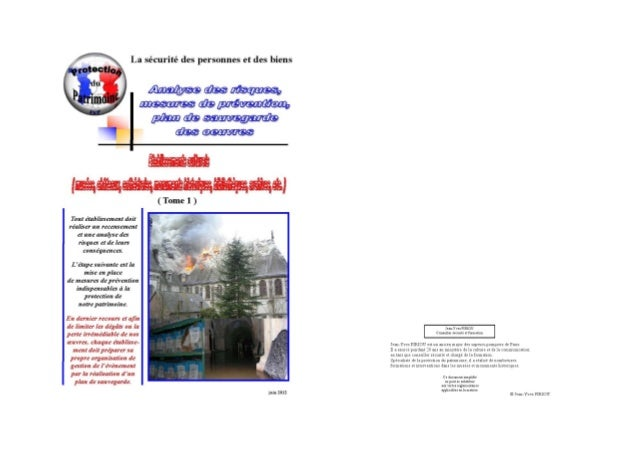 Plan sauvegarde des œuvres 2012 final tome 1  jpg