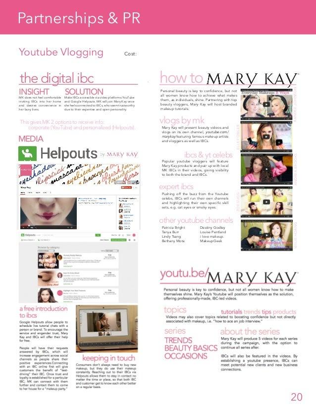 mary k case analysis Mary kay cosmetics essays 1 why has mary kay cosmetics group assignment case study : mary kay india hair care line product alinur ayuni ali2012416538.