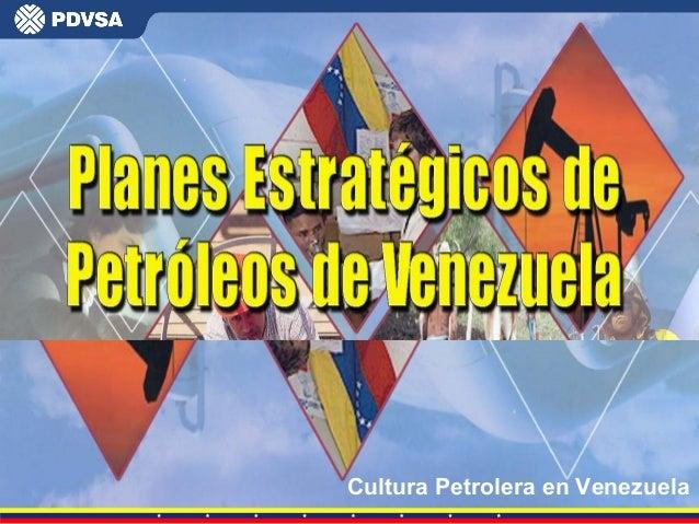Cultura Petrolera en Venezuela