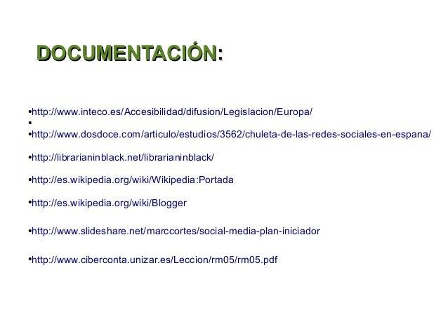 DOCUMENTACIÓN:http://www.inteco.es/Accesibilidad/difusion/Legislacion/Europa/●●http://www.dosdoce.com/articulo/estudios/35...