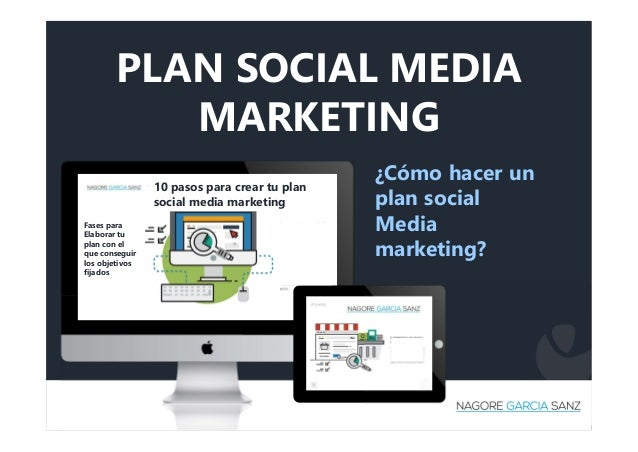 PLAN SOCIAL MEDIA MARKETING ¿Cómo hacer un plan social Media marketing? 10 pasos para crear tu plan social media marketing...