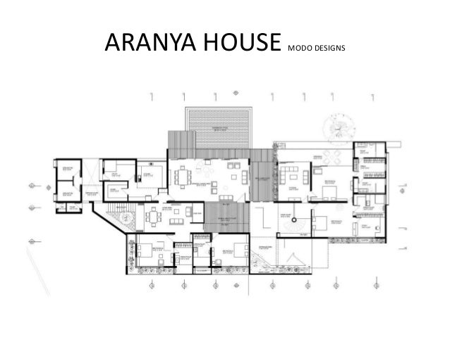 aranya house modo designs - Architectural Plans