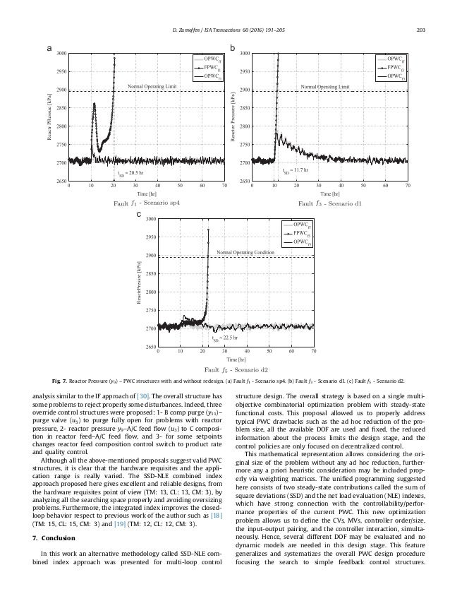 Plant wide control design based on steady-state combined indexes
