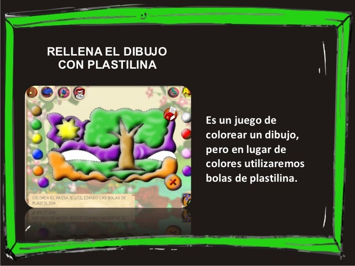 Es un juego de colorear un dibujo, pero en lugar de colores utilizaremos bolas de plastilina. RELLENA EL DIBUJO CON PLASTI...