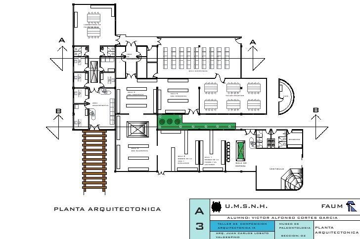 Planta arquitectonica for Oficinas planta arquitectonica