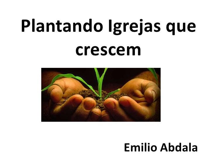 Plantando igrejas que crescem