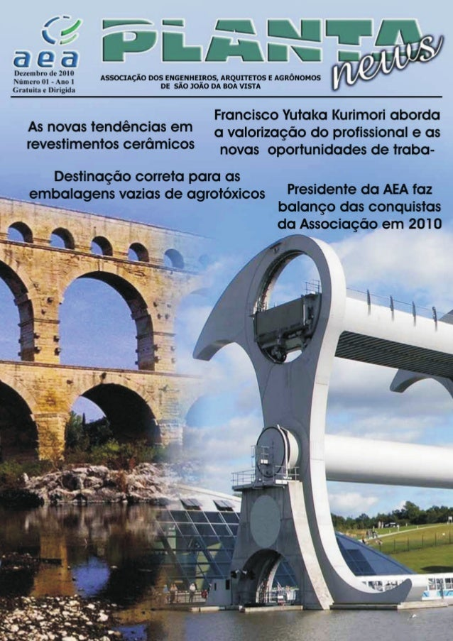 Revista Plantanews - 1 Edição Dezembro/2010