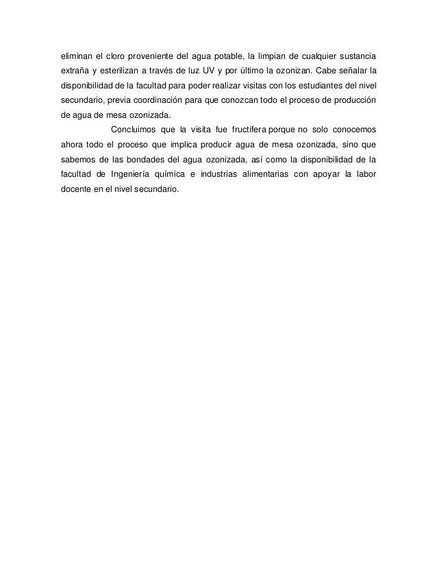 Planta procesadora de agua ozonizada Slide 3