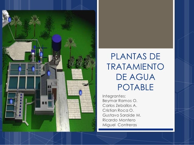 Plantas de tratamiento de agua potable - Tratamientos de agua ...