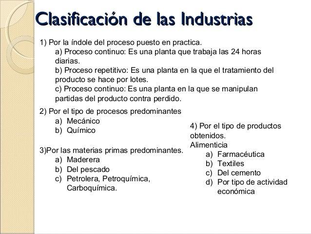 Plantas industriales for Clasificacion de las plantas ornamentales