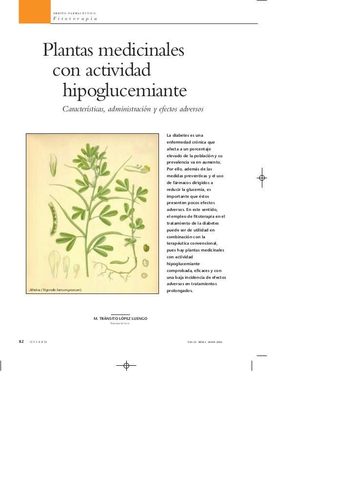 ÁMBITO FARMACÉUTICO                     Fitoterapia             Plantas medicinales              con actividad            ...